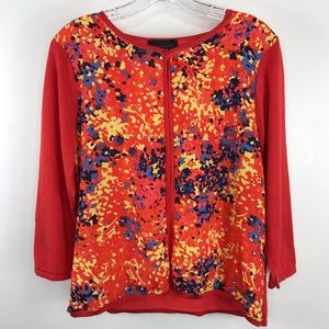Investments petites open cardigan sweater size PL